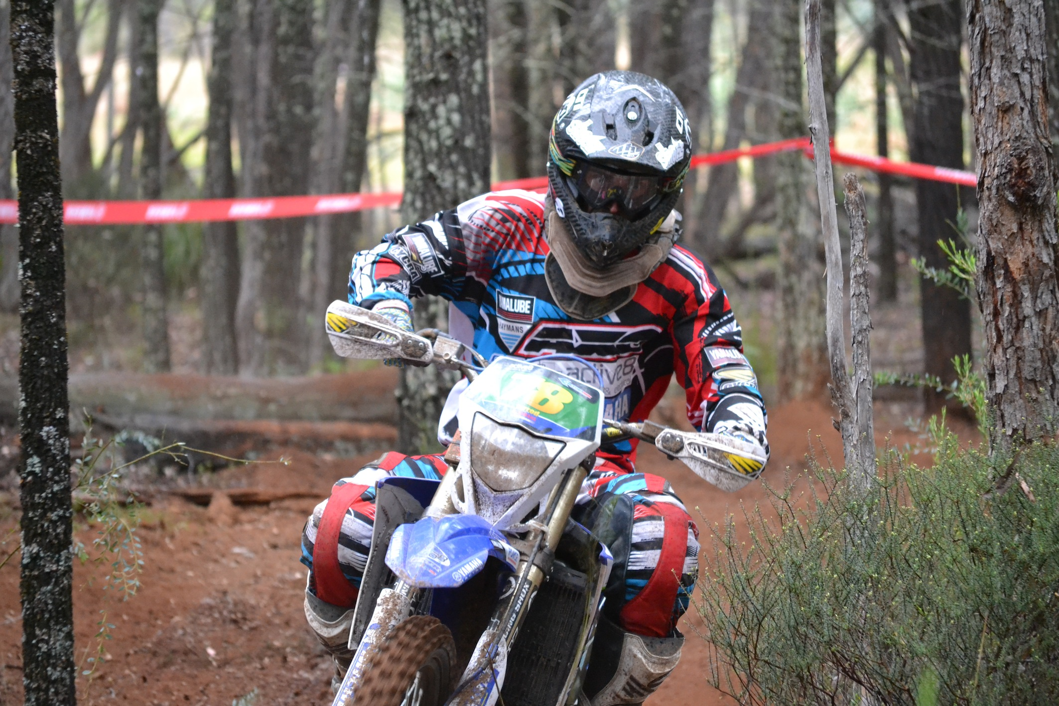 PR: Green and Bewley on Fire at Yamaha AORC Round Five