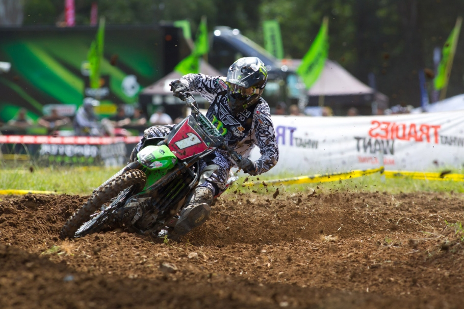 Good Points Haul for Monster Energy Kawasaki Riders at Tough MX Nationals Opener