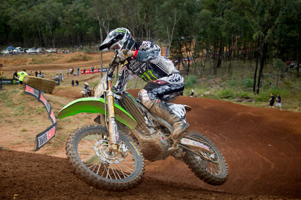 Kade Mosig Gets His First Podium for Monster Energy Kawasaki at Coonabarabran MX