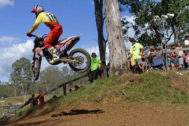 JDR/KTM opens MX Nationals account at Conondale