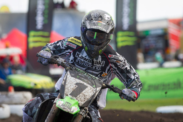 PR: Monster Energy Kawasaki Down But Not Out After Tough Wonthaggi Round