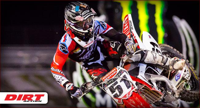 AMA Supercross Rd 2 Phoenix, AZ
