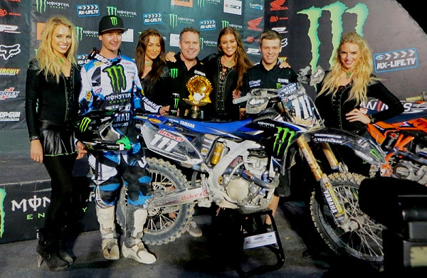 Dean Ferris Kicks Off His World Motocross Championship With A Podium