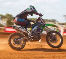 Monster Energy Kawasaki Will Regroup Quickly After Tough Murray Bridge Round