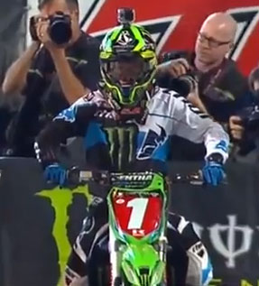 Monster Energy AMA Supercross Rd 16 Salt Lake City, UT
