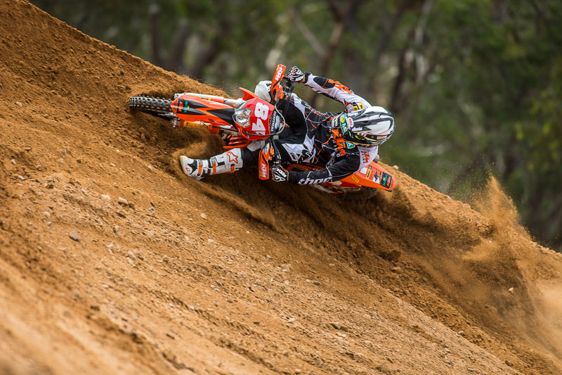 2013 KTM Australia Race Team photo-shoot
