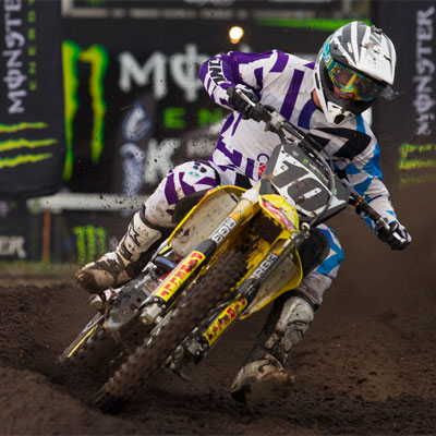 Motul Pirelli Suzuki's Moss Moves into MX Nationals Title Contention