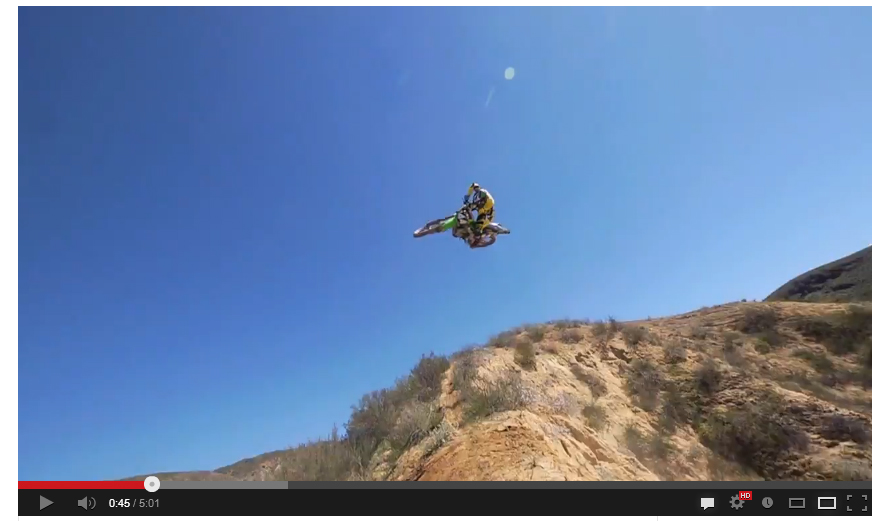 VIDEO: Darryn Durham in the hills