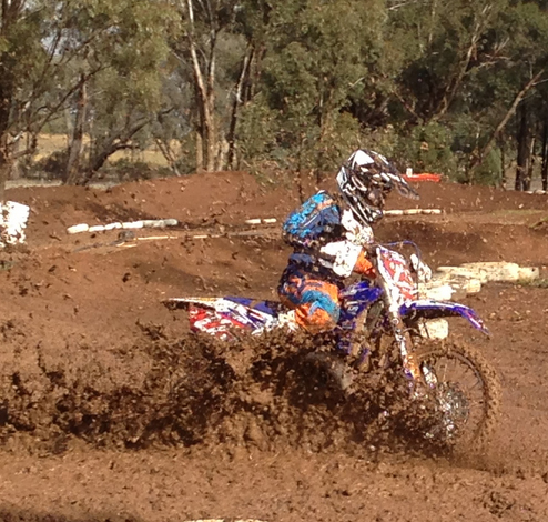 YJR NSW Endure Testing Weekend in Dubbo Mud-fest