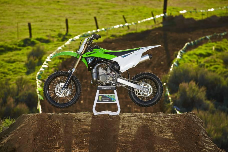 2014 Kawasaki KX85 unveiled