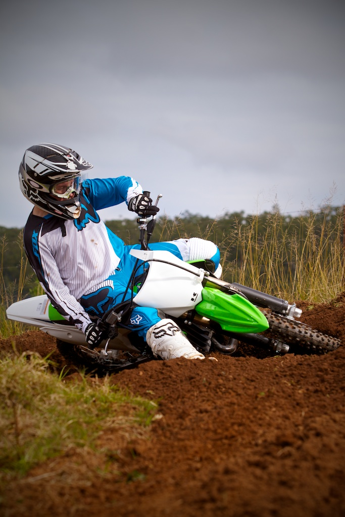 Photo Gallery: 2014 Kawasaki KX85 test