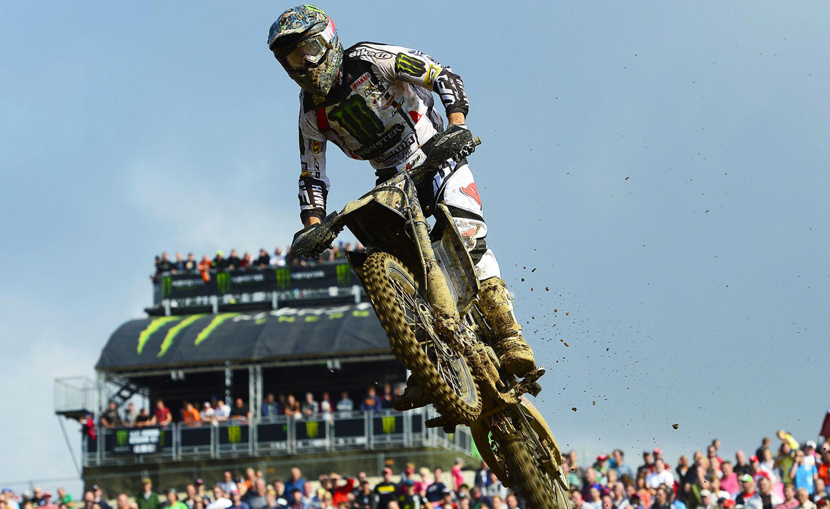 Yamaha win both motos at British Grand Prix