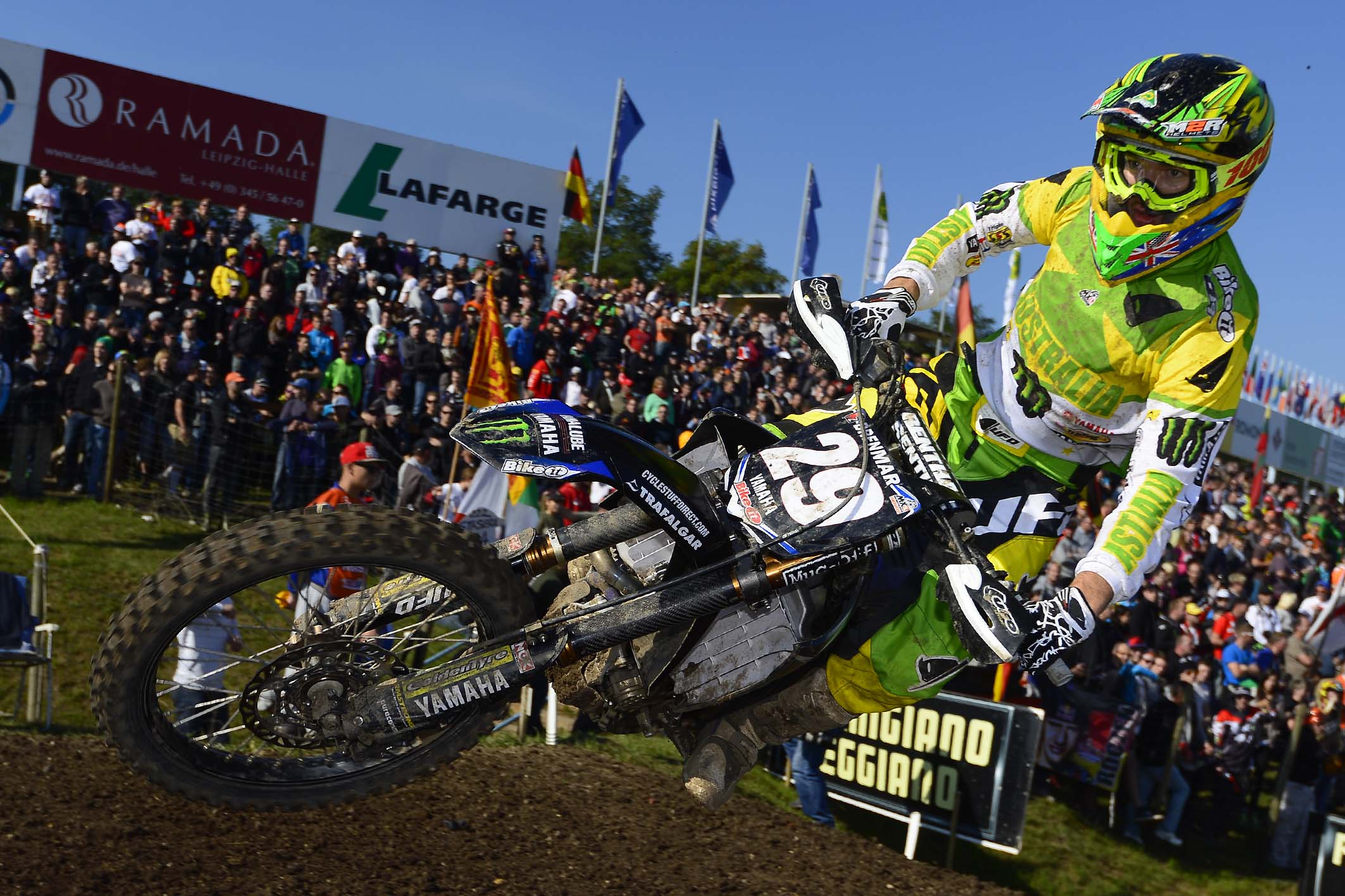 Dean Ferris shines at 2013 Motocross of Nations