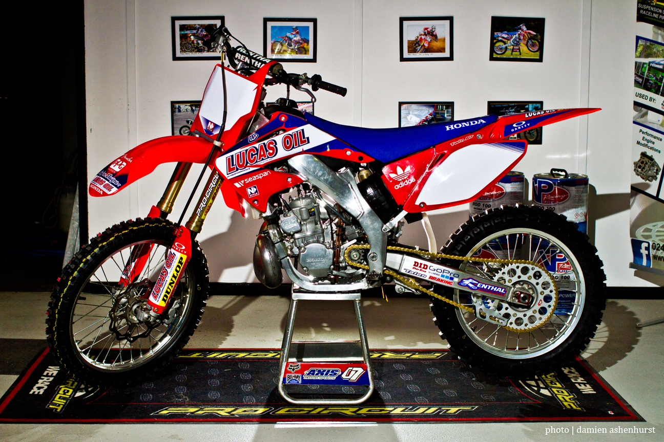 UP CLOSE WITH AXIS MOTORSPORTS CR250