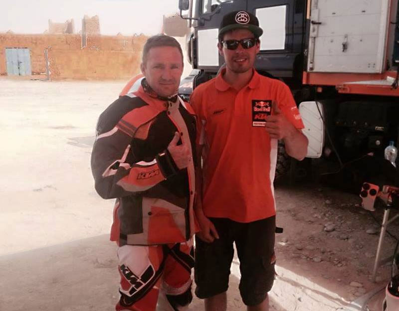 KTM's KING OF THE DESERT BEGINS HIS DAKAR BUILD-UP