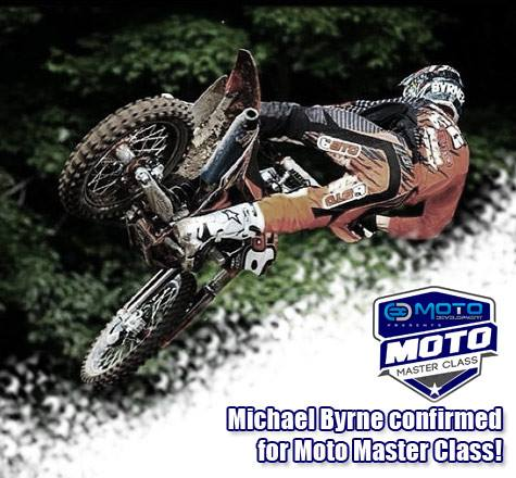 Moto Master Class Announcement - Michael Byrne Confirmed!