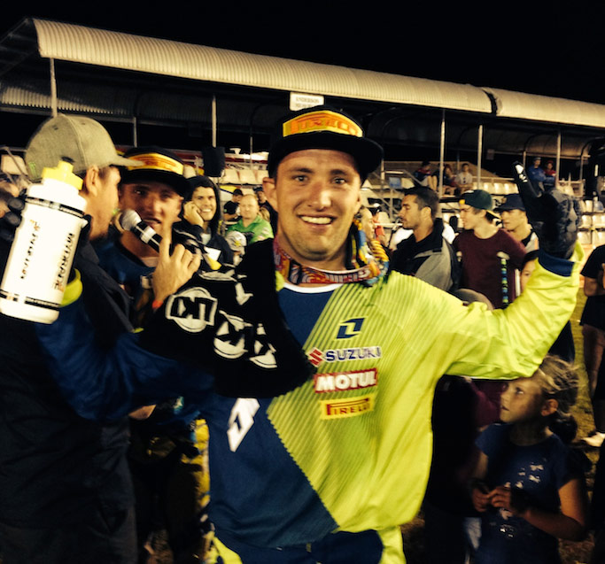 Matt Moss adds Australian Supercross Championship to 2013 tally