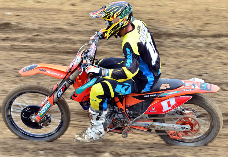 KTMS DALE AND GIBBS IMPRESS AT WOODVILLE MXGP