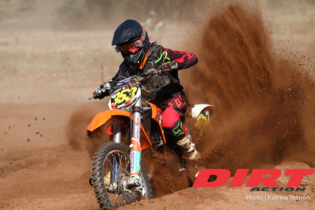 Photo Gallery: Dirt Action Amcross Round One Cooma - Juniors