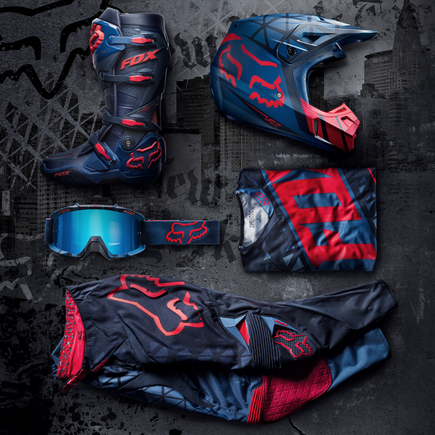 Gear Check: FOX Limited Edition New York Racewear