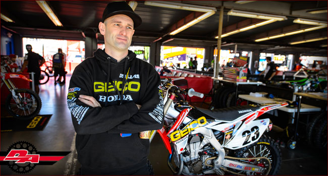 Interview: Geico Hondas Kris Kibby