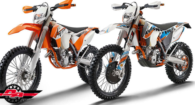 2015 KTM EXCs Released!