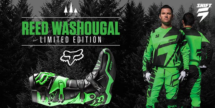 New Product: Shift 2015 Faction Reed Washougal LE