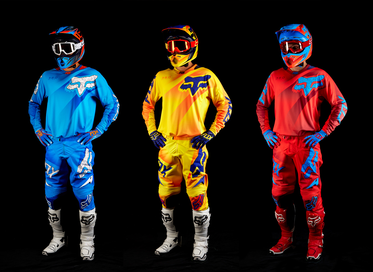 NEW PRODUCTS: FOX 2015 360 Flight Racewear