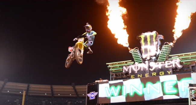 Race Report: Monster Energy AMA Supercross Rd 3 Anaheim, CA