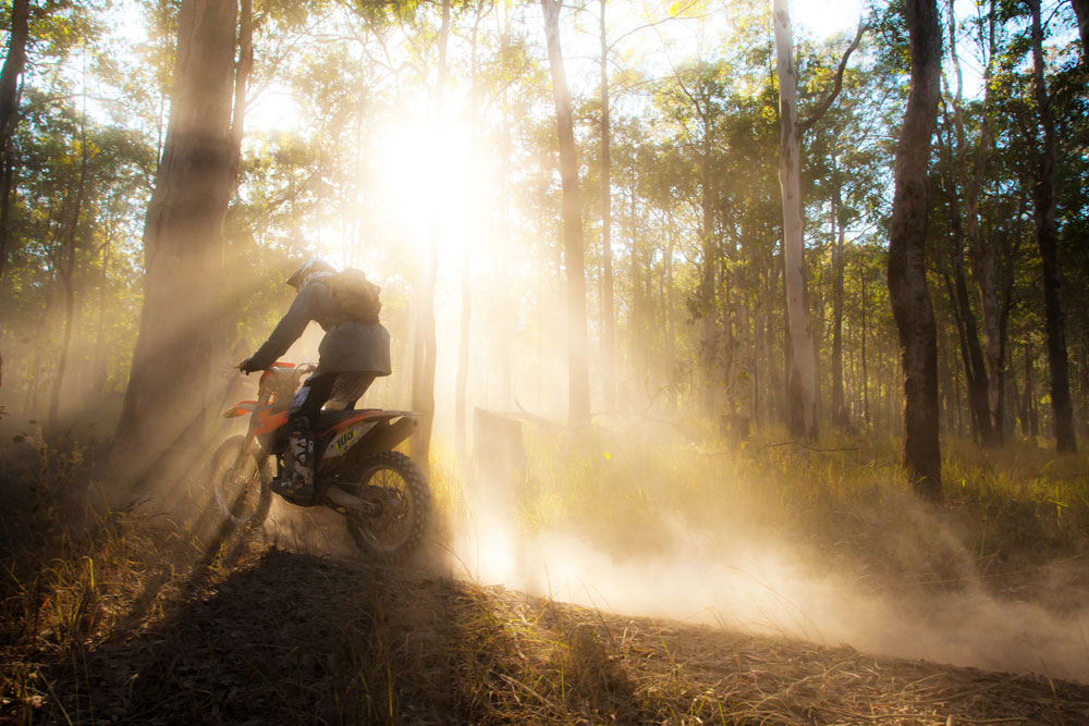 Trail Riding Tip: Surviving Dust