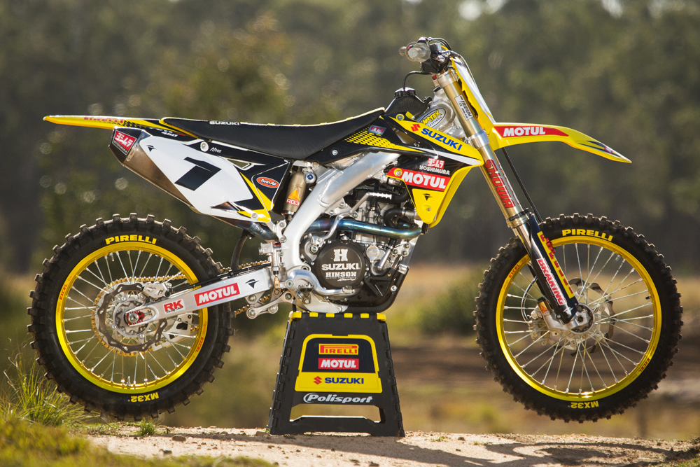 Photo Gallery: Matt Moss Factory Bike Test