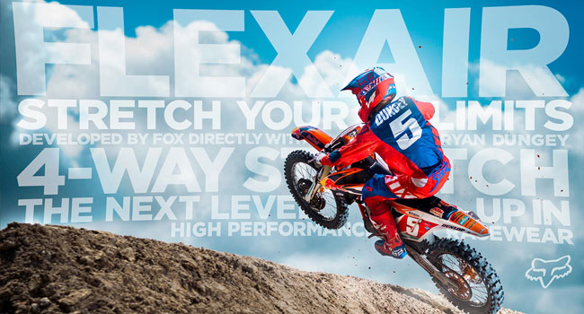 Video: FOX Announces FLEXAIR The Next Level Up In High Performance Racewear