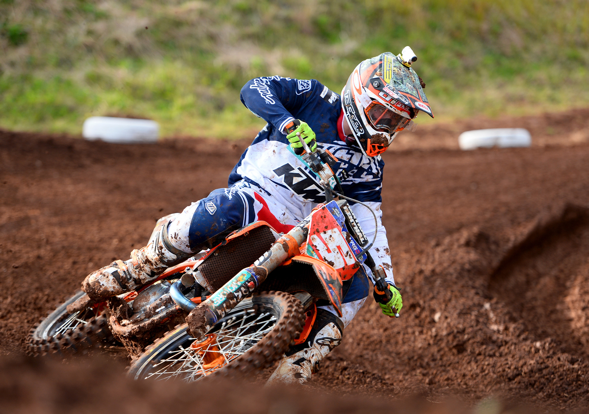 Kirk Gibbs riding for KTM