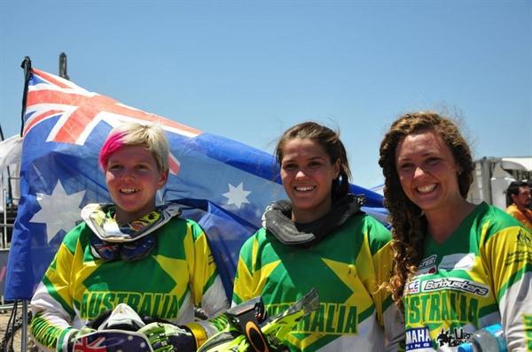 Aussie Womens Trophy Team