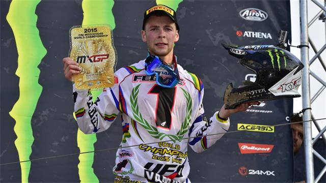 Febvre is the 2015 MXGP Champion
