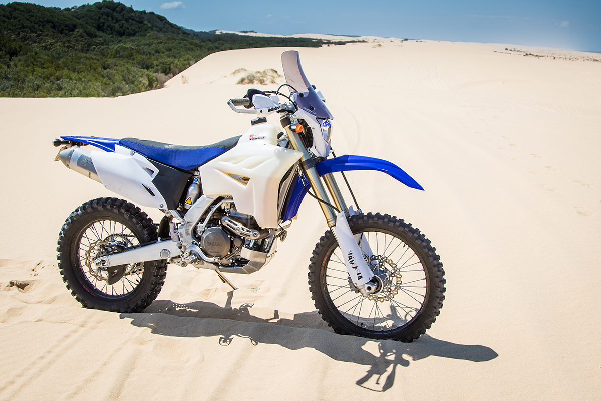 YAMAHA WR450F ADVENTURE