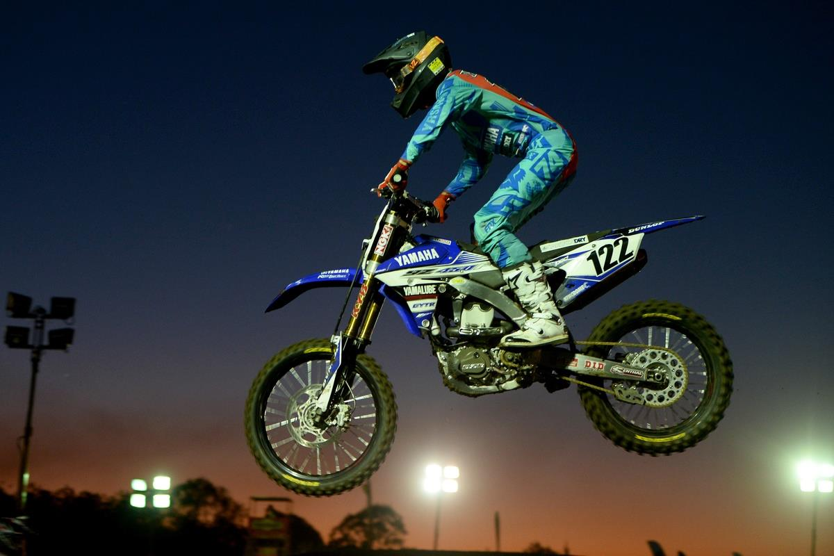 Dan Reardon wins SX1 round two of the Australian Supercross Champiosnhip