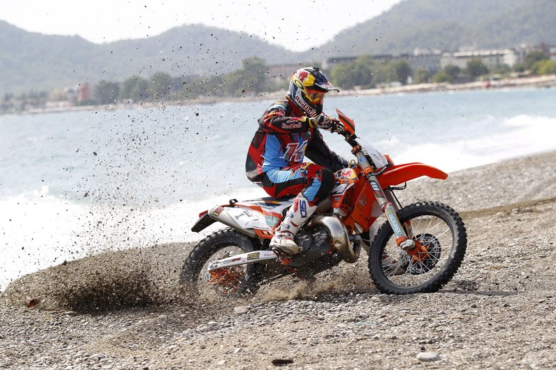 Jonny Walker targets the hard enduro grand slam