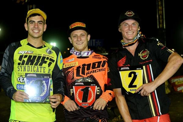 SX2 Podium Winners - Jeff Crow Photo