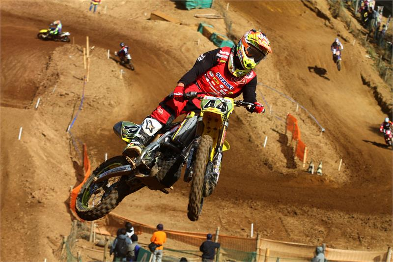 Suzukis Yohei Kojima wins the All Japan Motocross Championship