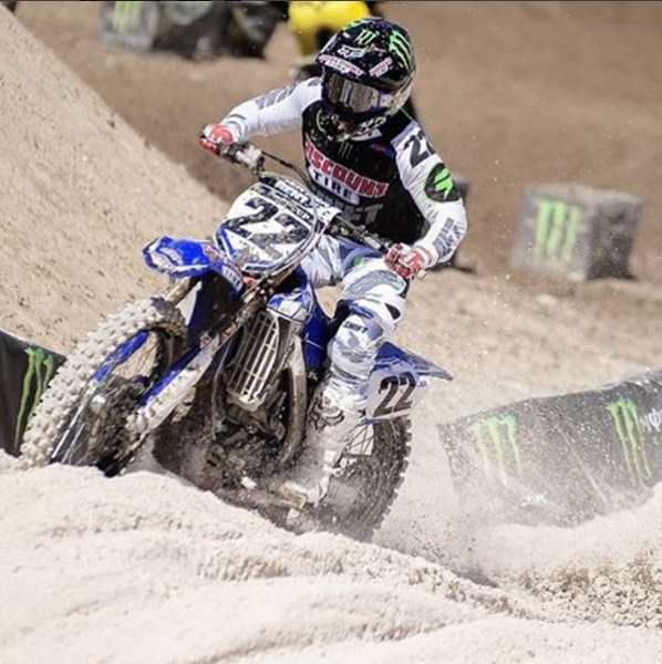 Chad Reed reveals on instagram he has split with Discount Tyres