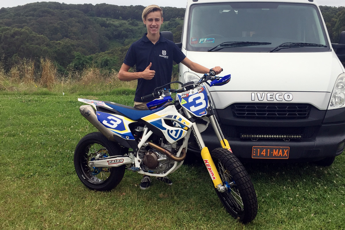 Croker joins the Husvarna 2016 Dirt Squad