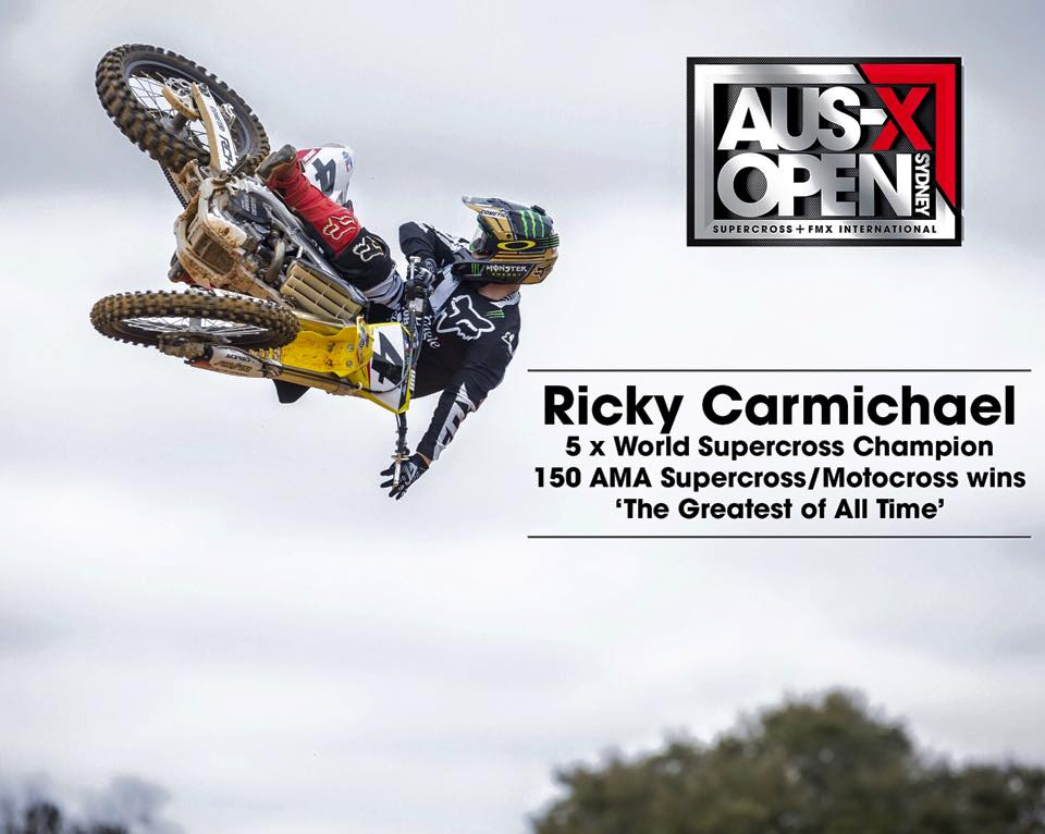 RC and Webb to Headline AUS-X Open