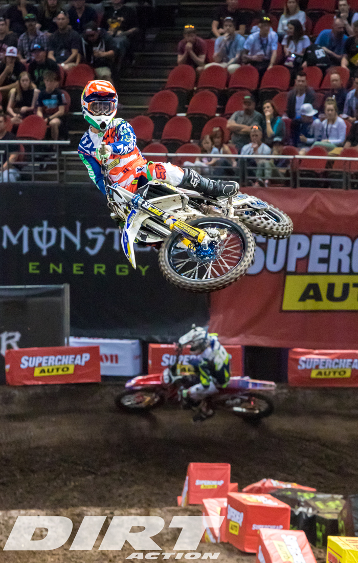 Arbon Crashes out of Supercross Series