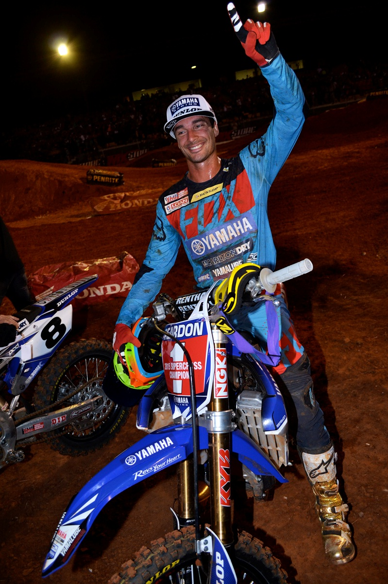 2015 SX1 champion Dan Reardon