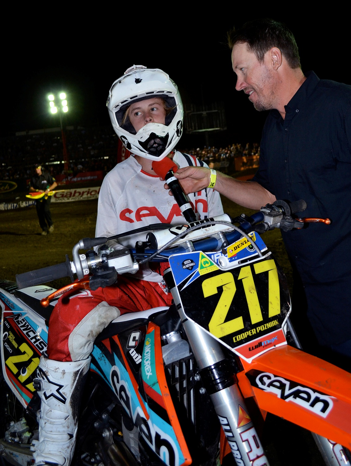 Cooper Pozniak 2015 ASX Junior Lites Champion