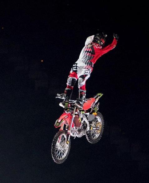 Josh Sheehan at Nitro Circus Dubai
