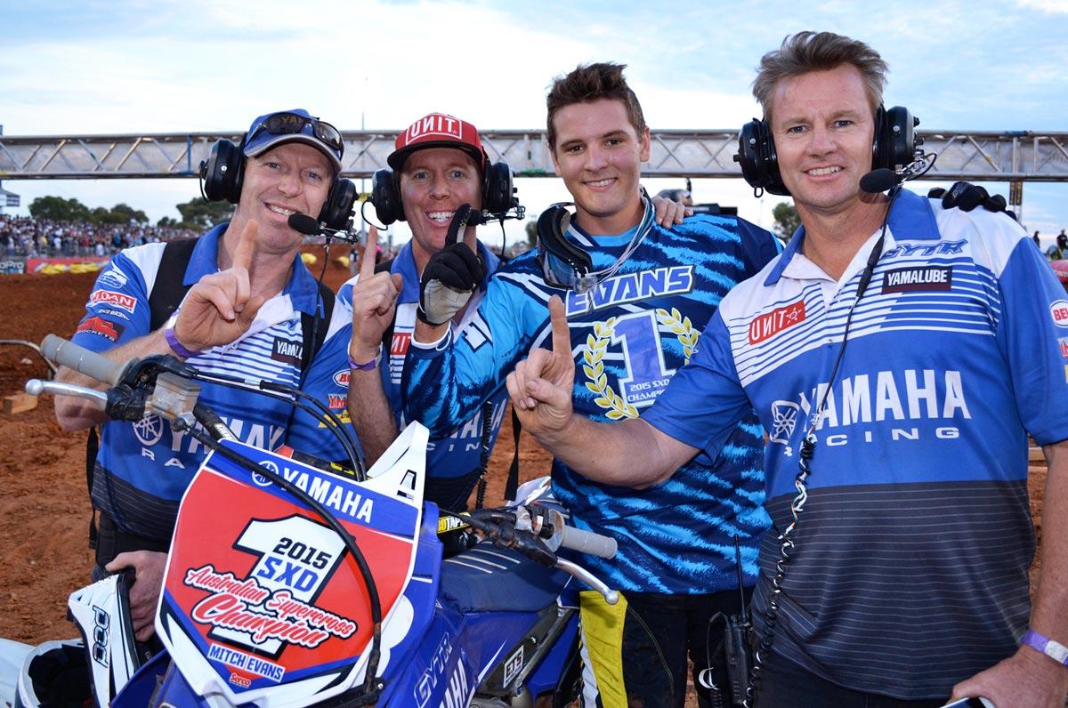 Mitch Evans 2015 SXD Champion