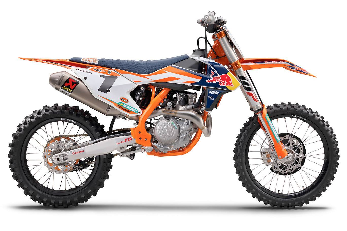 2016 Factory Edition KTM's