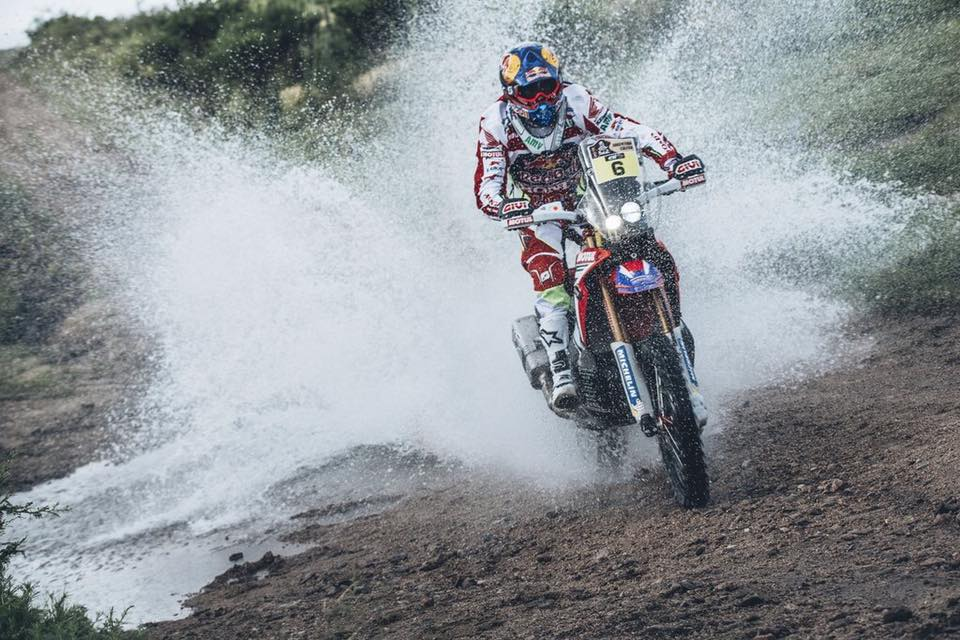Barreda Tops Dakar Stage Three